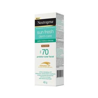 Protetor Solar Neutrogena Sun Fresh Pele Oleosa Negra FPS 70 40g