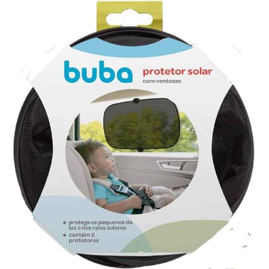 Protetor Solar para Carro com Ventosa Buba - Preto