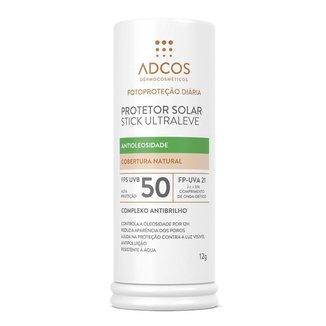 Protetor Solar Stick Adcos FPS50 Ultra Leve Beige