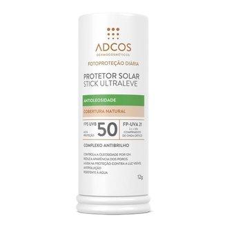 Protetor Solar Stick Adcos FPS50 Ultra Leve Incolor