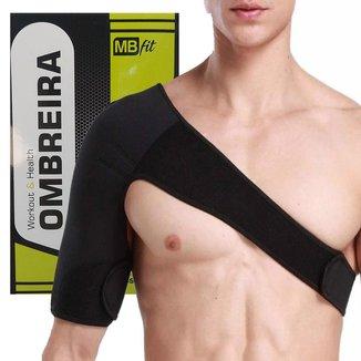 Protetor Suporte De Ombro Ombreira Ortopedica Clavícula Bilateral Esquerdo Direito Tensor Ajustavel