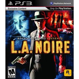 PS3 Rockstar Games - L.A. Noire