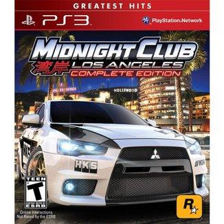 PS3 Rockstar Games. Midnight Club Los Angeles: Complete Edition