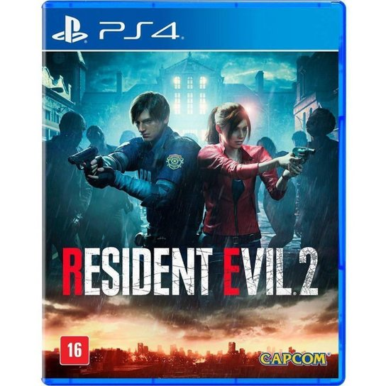 PS4 - Resident Evil 2 - Incolor