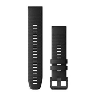 Pulseira Garmin QuickFit 22 Fênix 5/5Plus/6, Forerunner 935/945, Instinct, Quatix 5, Silicone, Preto