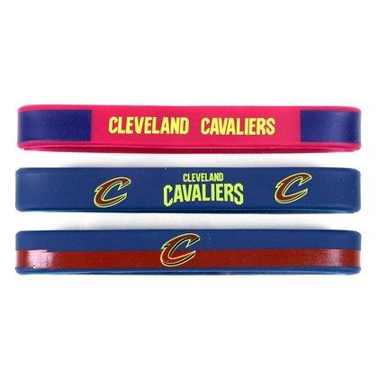 Pulseira NBA Cleveland Cavaliers c/ 3 Unidades