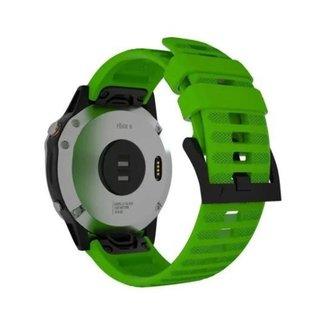 Pulseira Para Garmin Fenix 5/ Fenix 6 / Forerunner  935 945 Verde M3