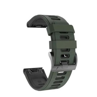 Pulseira Para Garmin Fenix 5/ Fenix 6/ Forerunner 935 945 Verde M4