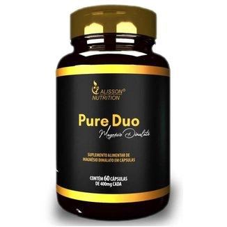 Pure Duo Magnésio Dimalato Alisson Nutrition - 60 cápsulas