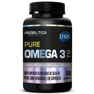Pure Omega 3 TG 60 capsulas Probiótica