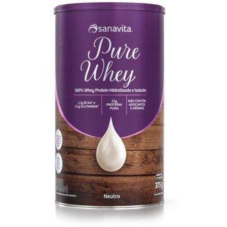 Pure Whey  375g Neutro  Sanavita