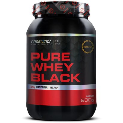 Pure Whey Black 900g - Probiótica
