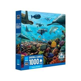 Quebra-cabeça 1000 Peças Game Office