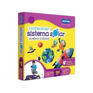 Quebra-cabeça 120 Peças Sistema Solar Grandão