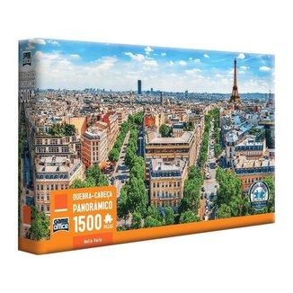 Quebra-cabeça 1500 Peças Belle Paris Game Office