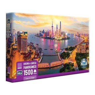 Quebra-cabeça 1500 Peças Luzes de Xangai