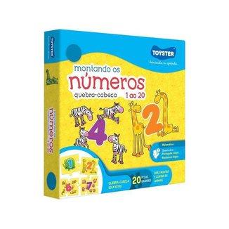 Quebra-cabeça 20 Peças Matemática