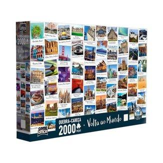 Quebra-cabeça 2000 Peças Game Office