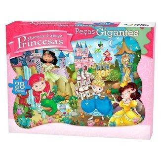 Quebra-cabeça 28 Peças Princesas