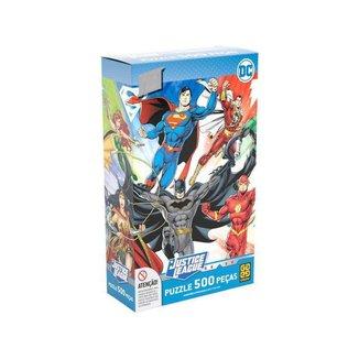Quebra-cabeça 500 Peças Heróis DC Comics