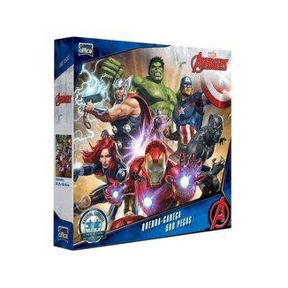 Quebra-cabeça 500 Peças Os Vingadores