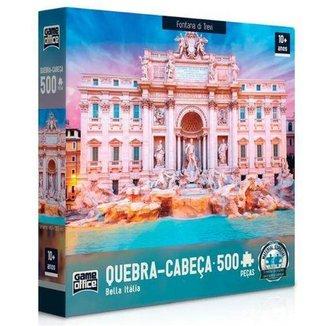 Quebra-Cabeça Bella Itália Fontana Di Trevi 500 Peças Toyster