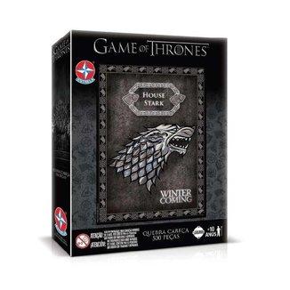 Quebra Cabeça Game Of Thrones House Stark 500 Pçs