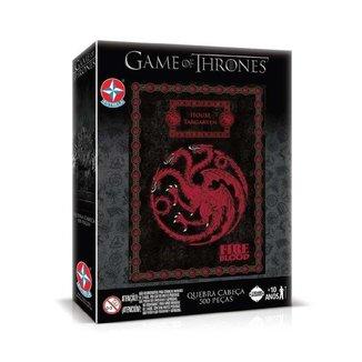 Quebra Cabeça Game Of Thrones Targaryen 500 Peças