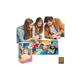 Quebra Cabeça Puzzle Disney Princesas - 150 Peças - Grow
