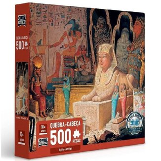 Quebra-Cabeça Toyster 500 Peças Egito Antigo