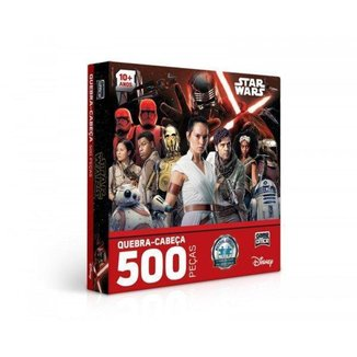 Quebra-Cabeça Toyster 500 Peças Star Wars IX A Ascensão Skywalker