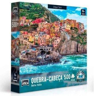Quebra-Cabeça Toyster Bella Itália Cinque Terre 500 Peças