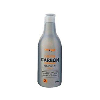 QUERATINA CAUTER CARBON 500 ML - ONIXX (UNICO)