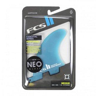 Quilha FCS II Performer Neo Glass Quad