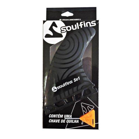 Quilhas Soulfins Se1 - Preto