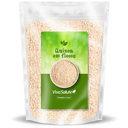 Quinoa em Flocos Viva Salute Embalados a Vácuo - 200 g -