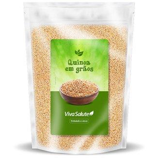 Quinoa em Grãos Viva Salute Embalados a Vácuo - 1 Kg