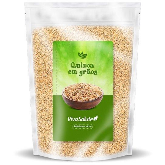 Quinoa em Grãos Viva Salute Embalados a Vácuo - 500 g -
