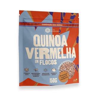 Quinoa Vermelha em Flocos 150g Viva Regenera