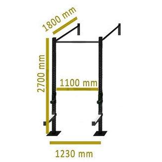 Rack Funcional Parede Crossfit Standard RK002 - Enforce Fitness