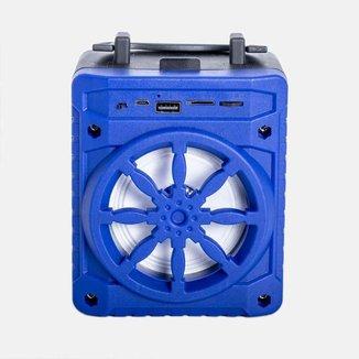Rádio Portátil Grasep Bluetooth/USB Al-302 Azul
