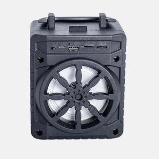Rádio Portátil Grasep Bluetooth/USB Al-302 Preta