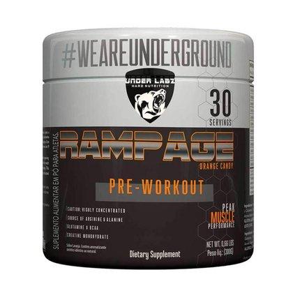 Rampage Pre-Workout 300g Orange Under Labz