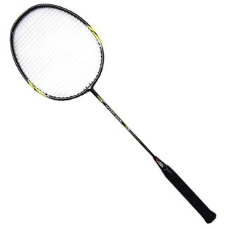 Raquete badminton fibra de carbono premium Pista e Campo