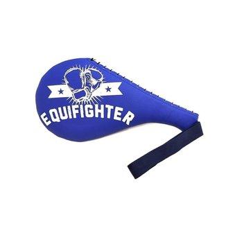 Raquete Chute Alvo Taekwondo Kungfu Hapkido Equifighter Azul