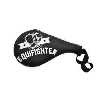 Raquete Chute Alvo Taekwondo Kungfu Hapkido Equifighter Preto
