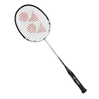 Raquete de Badminton Yonex Muscle Power 2 - Branca com Laranja