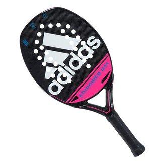 Raquete de Beach Tennis Adidas Adipower H31 Preta e Rosa