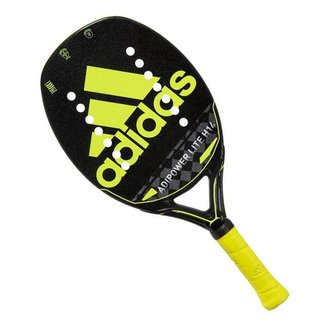 Raquete de Beach Tennis Adidas Adipower Lite H14 Preta e Amarela