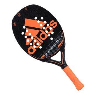 Raquete de Beach Tennis Adidas Adipower Lite H24 Preta e Laranja